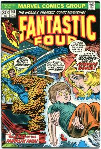 FANTASTIC FOUR #141, 142, VG, FN, Franklin, 1st Darkoth, 1961,more in store, QXT