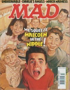 MAD MAGAZINE #403 - HUMOR COMIC MAGAZINE