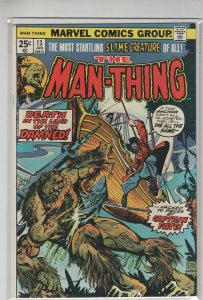 MAN-THING (1974 MARVEL) #13 FN+ A15086
