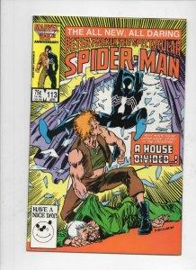 Peter Parker SPECTACULAR SPIDER-MAN #113 VF+, Black suit 1976 1986 more in store
