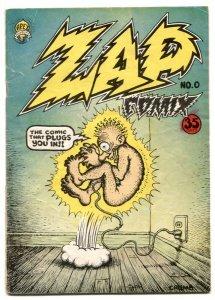 Zap Comix #0 1968- Robert Crumb underground G
