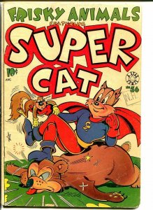 SUPER CAT #56-first issue-BOXING-SKIING-ATLANTIS G/VG