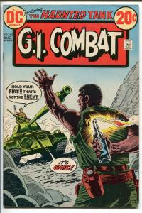 G.I. COMBAT #163 1973-DC-THE HAUNTED TANK-WAR STORIES--vf