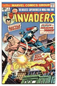 The Invaders #3 1970- comic book-Marvel Bronze Age- Intro U-Man VF+