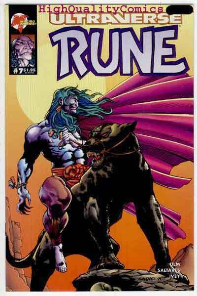 RUNE #7, NM+, Anansi, Vampire, 1994, Chris Ulm, more in store