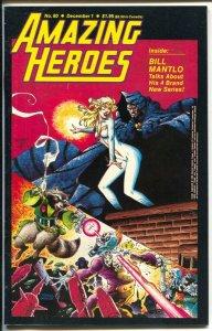 Amazing Heroes #60 1984-Redbeard-Rocket Raccoon-Star Hawks-Gil Kane-FN