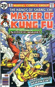 Master of Kung Fu, the Hands of Shang-Chi #43 (Aug-76) VF/NM+ High-Grade Shan...