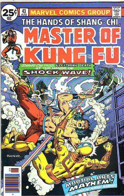 Master of Kung Fu, the Hands of Shang-Chi #43 (Aug-76) VF/NM+ High-Grade Shan...