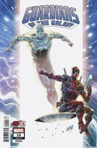 GUARDIANS OF THE GALAXY #15 LIEFELD DEADPOOL 30TH VARIANT