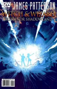 Witch & Wizard: Battle for Shadowland #4, NM (Stock photo)