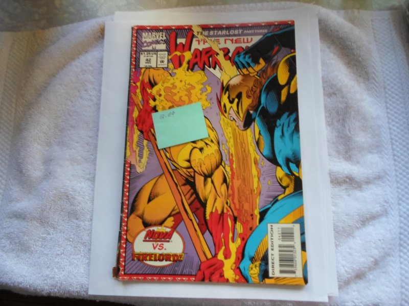1993 MARVEL COMIC THE NEW WARRIORS # 42