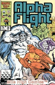 ALPHA FLIGHT (1983 Series)  #38 Very Fine Comics Book