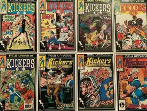 Kickers inc from:#1-11 8 difference 8.0 VF (1986+87)