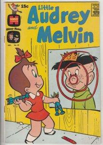 Little Audrey and Melvin #43 (Dec-69) NM- High-Grade Little Audrey