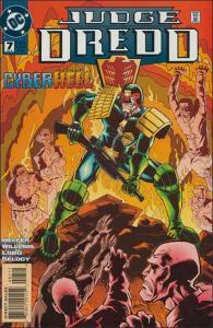 DC JUDGE DREDD (1994 Series) #7 VF+