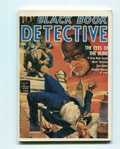 BLACK BOOK DETECTIVE-REPRODUCTION-LIMITED EDITION-THE EYES OF THE BLIND-JAN/1942