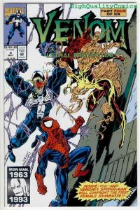 VENOM, LETHAL PROTECTOR #4, VF/NM,  Spider-man, Bagley, more Marvel in store