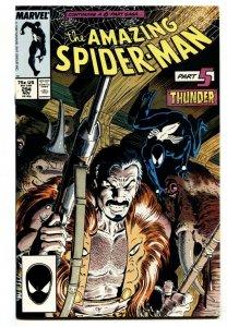 AMAZING SPIDER-MAN #294 Death of KRAVEN-MARVEL COMICS NM-