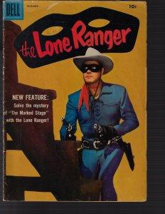 Lone Ranger #114 (Dell, 1957) VG+