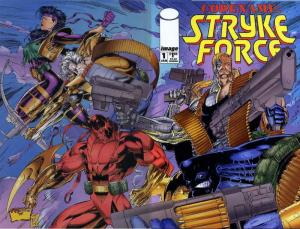 Codename: Stryke Force #1 VF/NM; Image | save on shipping - details inside