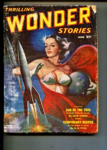 Thrilling Wonder Stories-Pulp-6/1951-Roger Dee-Jack Vance