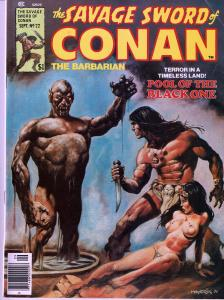 Savage Sword of Conan # 22- Early Conan Magazine - 6.0 or Better