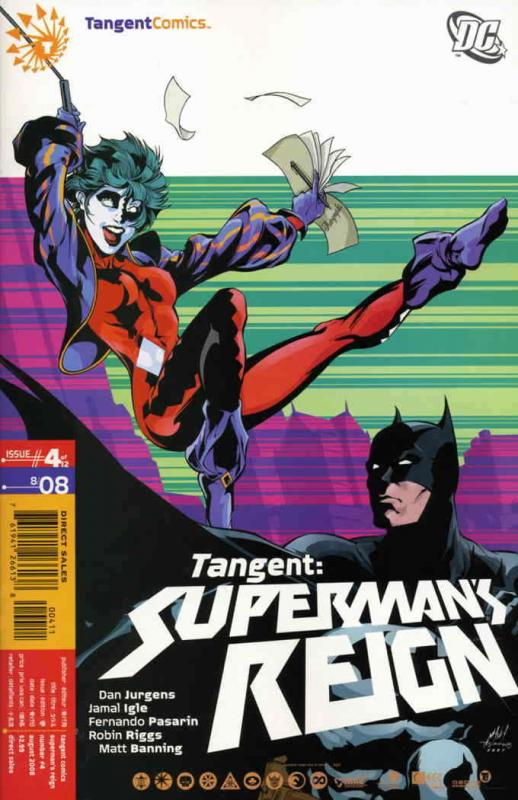 Tangent: Superman's Reign #4 FN; DC | save on shipping - details inside