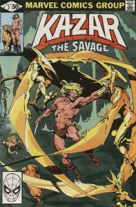 Ka-Zar the Savage #2 FN; Marvel | save on shipping - details inside