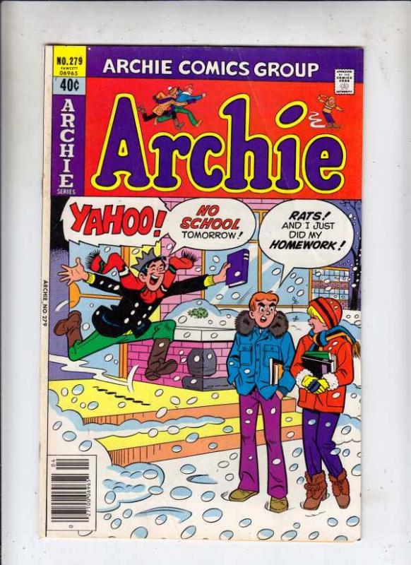 Archie #279 (Apr-79) VF High-Grade Archie