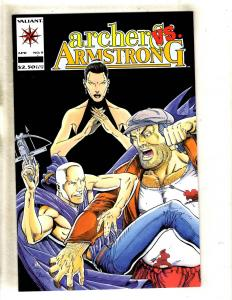 Lot Of 5 Archer & Armstrong # 9 NM Valiant Comic Books 1st Prints MR8