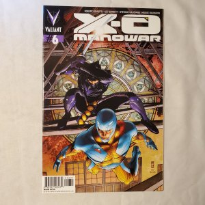 X-O Manowar 6 Very Fine+ Limited 1 for 50 Variant