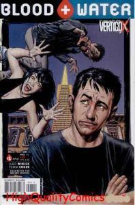 BLOOD & WATER #1, NM+, Vampires, Undead, Fangs, Vertigo, 2003