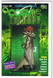 COSMIC THERAPY Catalog #2, VF, Joseph Linsner, Taylor, 1998, more JL in store