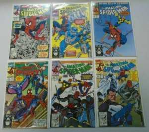 Amazing Spider-Man comic lot from:#350-399 33 Different Average 8.0 VF (1991-95)