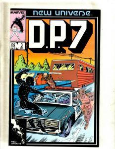 Lot of 12 DP7 Marvel Comic Books #3 4 5 6 10 11 13 14 15 16 17 18 J411