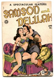 -SAMSON AND DELILAH-Spectacular Feature #11 1950-Fox comic book