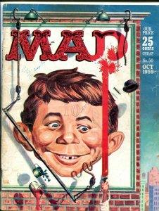 MAD MAGAZINE #50-1959-ALFRED E. NEUMAN-JACK DAVIS G