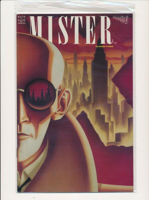 Vortex Comics LOT OF 9-MISTER X #1-8 + THE RETURN OF MISTER X  F/VF(PF851)