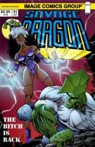 Savage Dragon, The #91 VF/NM; Image | save on shipping - details inside