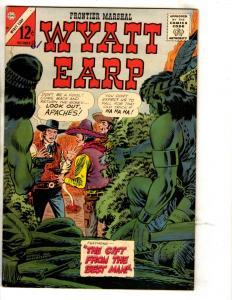 Wyatt Earp # 60 FN/VF Charlton Comic Book Frontier Marshall Western Cowboy JL3