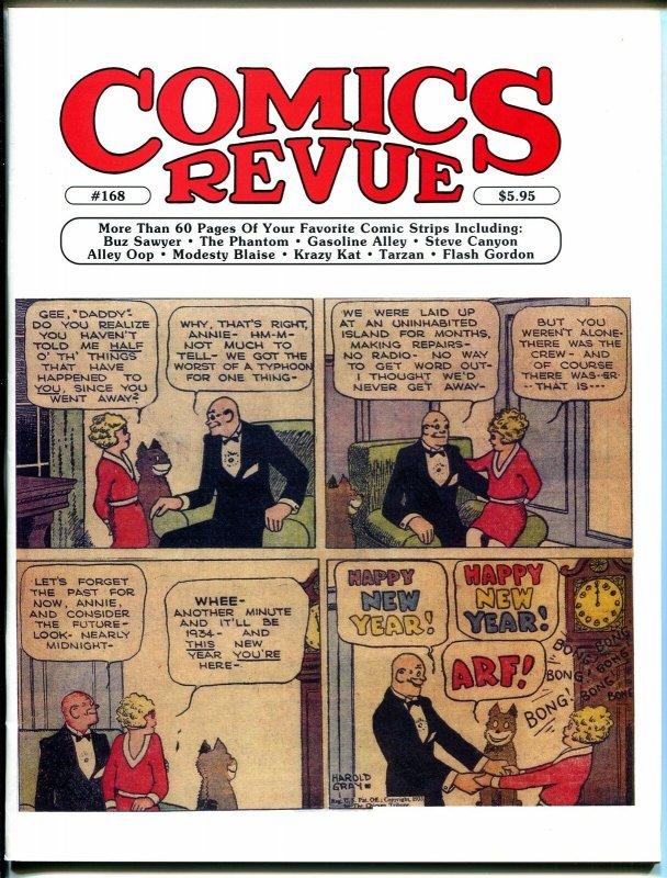 Comics Revue #168 2000-Harold Gray-Little Orphan Annie-Modesty Blaise-VF