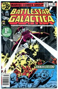 BATTLESTAR GALACTICA #1, NM-, Apollo, Zac, Cyclons, 1979, Annihilation Exodus