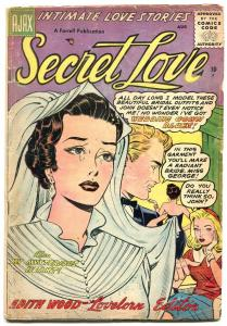 Secret Love #3 1956-Silver Age Romance comic- Wedding cover