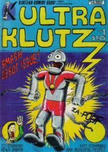 ULTRA KLUTZ #1, VF/NM, Signed Jeff Nicholson, Klutzian Komidy Kause 1981