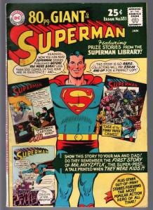 SUPERMAN #183-1966 DC 80 page giant--FN minus FN-