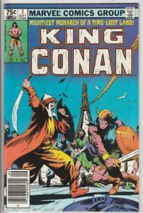 King Conan #7 (Sep-81) NM- High-Grade Conan the Barbarian