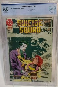 Suicide Squad #48 - CBCS 9.0 - White Pages - Prequel to The Killing Joke