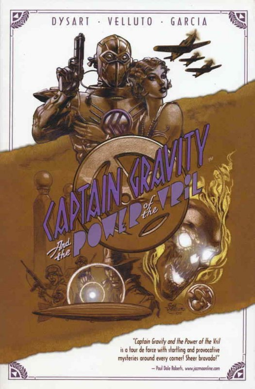 Captain Gravity: The Power of the Vril TPB #1 VF/NM; Penny-Farthing   save on sh