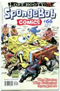 SPONGEBOB #66, NM, Square pants, Bongo, Cartoon comic, 2011, more in store