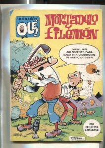 Coleccion Ole numero 214: Mortadelo y Filemon: Dos detectives explosivos